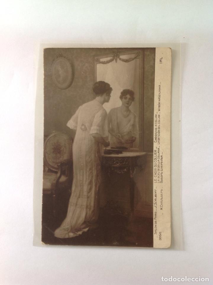 Postales: POSTALES ANTIGUAS (lote de 5 POSTALES salón de París) - Foto 5 - 155921941