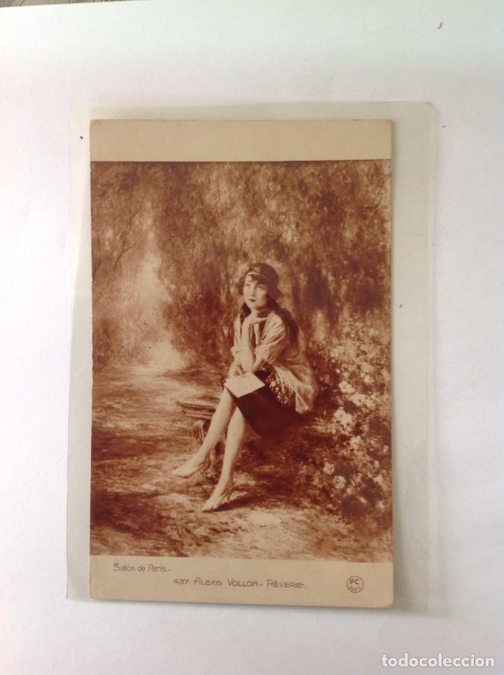 Postales: POSTALES ANTIGUAS (lote de 5 POSTALES salón de París) - Foto 4 - 155921941