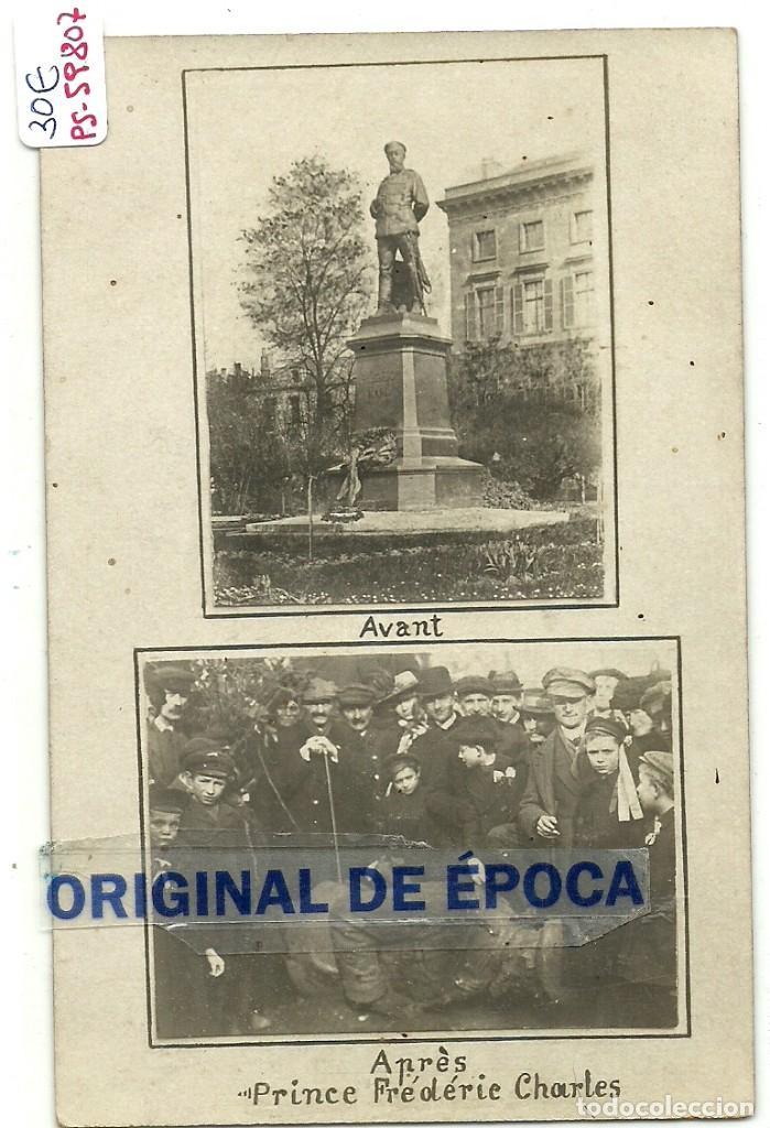 (PS-59807)POSTAL FOTOGRAFICA DE PRINCIPE FREDERIC CHARLES (Postales - Postales Extranjero - Europa)
