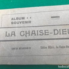 Postales: E100- BLOC DE 20 CARTES POSTALES ANTIGUAS DE - LA CHAISE - DIEU. Lote 156496654