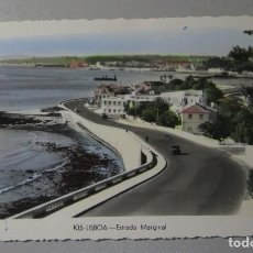 Postales: POSTAL COLOREADA. PORTUGAL. LISBOA. ESTRADA MARGINAL. 105. DULIA. Lote 156510814