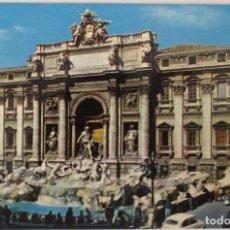 Postales: ITALIA - ROMA -FONTANA DI TREVI- (KODAK EKTACHROME 231/V 972) SIN CIRCULAR / P-8115. Lote 156528138