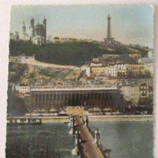 Postales: FRANCIA - LYON -LE PONT DU PALAIS DE JUSTICE- (LES EDITIONS J. CELLARD 36054) SIN CIRCULAR / P-8117. Lote 156529898