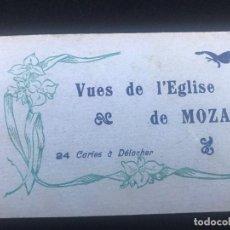 Postales: E100- BLOC DE 24 CARTES POSTALES ANTIGUAS DE VISTAS DE LA IGLESIA DE MOZAC -EDITA -LEVY PARIS . Lote 156592618