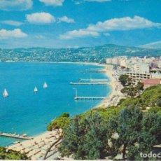 Postales: FRANCIA JUAN LES PINS VISTA GENERAL PLAYA POSTAL CIRCULADA . Lote 156838530