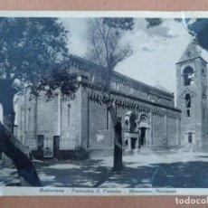 Postales: POSTAL DOLIONOVA PARROQUIA S. PANTALEO CIRCULADA 1939 SELLO CENSURA MILITAR BARCELONA. Lote 157349454