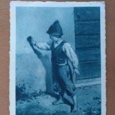 Postales: POSTAL CACCIATORE (E. CRESPI) CIRCULADA 1939 SELLO CENSURA MILITAR BARCELONA. Lote 157363038