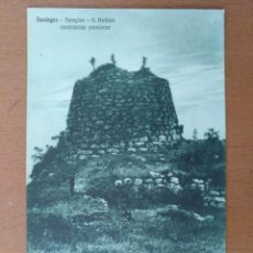 Postales: POSTAL CERDEÑA (ITALIA) CONSTRUCCION PREHISTORICA CIRCULADA 19125 CAGLIARI. Lote 158087238