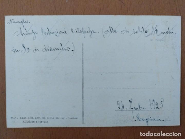 Postales: POSTAL CERDEÑA (ITALIA) CONSTRUCCION PREHISTORICA CIRCULADA 19125 CAGLIARI - Foto 2 - 158087238