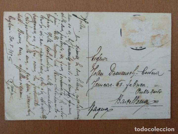 Postales: POSTAL CAGLIARI (CERDEÑA-ITALIA) PORTO E DARSENA CIRCULADA 1939 - Foto 2 - 158087490