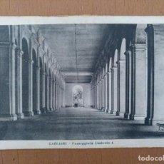 Postales: POSTAL CAGLIARI (CERDEÑA-ITALIA) PASSEGGIATA UMBERTO I CIRCULADA 1922. Lote 158517698