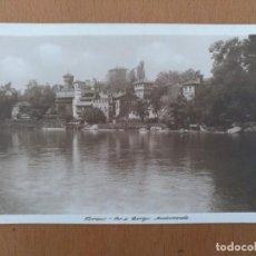 Postales: POSTAL TORINO (ITALIA) RIO E BORGO MEDIEVALE CIRCULADA 1924. Lote 158522578