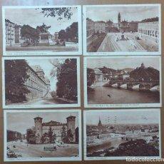 Postales: LOTE 6 POSTALES TORINO (ITALIA) CIRCULADAS 1931/1932. Lote 158522998