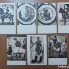 Postales: LOTE 7 POSTALES CAGLIARI PALAZZO COMUNALE (CERDEÑA-ITALIA) CIRCULADAS 1926. Lote 158525178