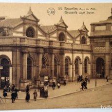 Postales: 9 ANTIGUAS POSTALES DE BRUSELAS - IMPRESOR: F. LION. SIN USO.. Lote 159270902