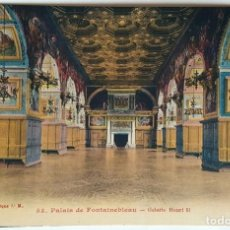 Postales: 8 ANTIGUAS POSTALES PALAIS DE FONTAINEBLEAU - COLLECTION ARTISTIQUE LM. SIN USO.. Lote 159272278