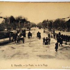 Postales: 5 ANTIGUAS POSTALES DE MARSELLA. VARIOS IMPRESORES. SIN USO.. Lote 159276190