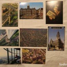 Postales: LOTE DE 8 POSTALES DE AMSTERDAM, MIDDELBURG,ROTTERDAM (HOLANDA) NUEVAS SIN CIRCULAR. Lote 159907130