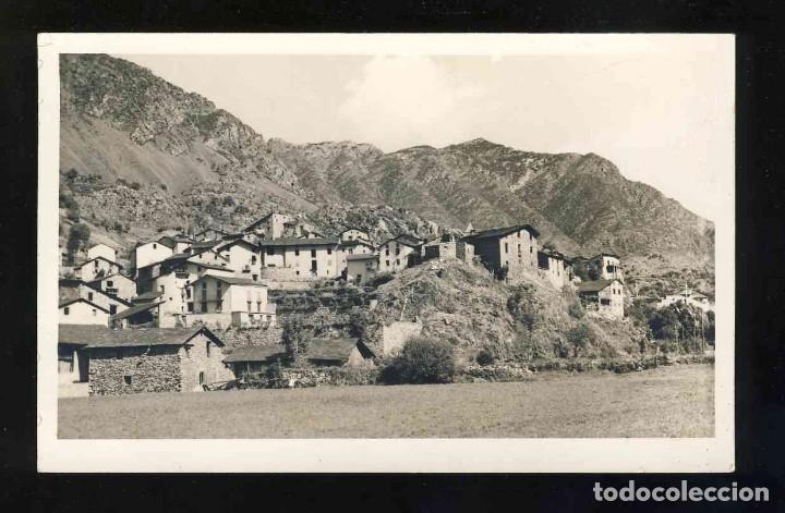 FOTO-POSTAL D' ANDORRA LA VELLA (?): VISTA (CLAVEROL). DORS AMB TIMBRE SECUNDINO TOMAS (Postales - Postales Extranjero - Europa)
