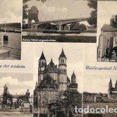 Postales: ALEMANIA & CIRCULADO, SALUDOS DESDE NIBELUNGENSTADT WORMS AM RHEIN A FRANCIA (7799). Lote 160941578