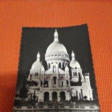 Postales: POSTAL SACRE COEUR PARIS AÑOS 50 CIRCULADA . Lote 161170378