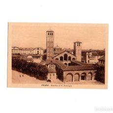 Postales: MILANO.- BASILICA DI S. AMBROGIO.. Lote 161356150