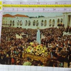 Postales: POSTAL DE PORTUGAL. PROCESIÓN DE LA VIRGEN DE FÁTIMA. 395. Lote 161405082