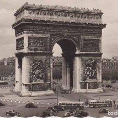 Postales: FRANCIA PARIS ARCO DE TRIUNFO POSTAL CIRCULADA 1958. Lote 161649642