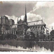 Postales: PARIS.- EN FLANANT. NOTRE DAME. EDITIONS YVON. FRANCIA. FRANCE- ESCRITA. Lote 161661326