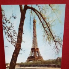 Postales: 5 POSTALES PARÍS - TORRE EIFFEL (SIN CIRCULAR) REF: 102/107. Lote 162099266