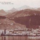 Postales: MONTREUX - LA ROUVENAZ. VUE PRISE DU LAC. EDITIONS ART. PERROCHET &DAVID, LAUSANNE. SUIZA. Lote 162304602
