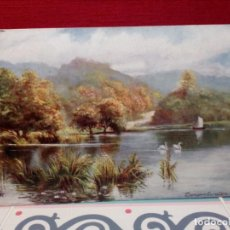 Postales: ANTIGUA POSTAL (AÑOS 30) CIRCULADA - LAGO INGLTERRA - REF: 149/159. Lote 162325862