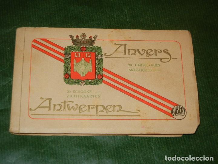 AMBERES - BELGICA - ÀLBUM DE 20 POSTALES. ALBERT - CONSERVA 18 POSTALES (Postales - Postales Extranjero - Europa)