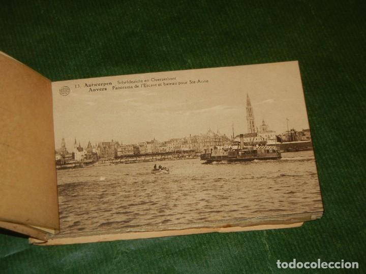 Postales: AMBERES - BELGICA - ÀLBUM DE 20 POSTALES. ALBERT - CONSERVA 18 POSTALES - Foto 2 - 162510602