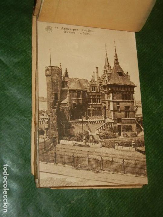 Postales: AMBERES - BELGICA - ÀLBUM DE 20 POSTALES. ALBERT - CONSERVA 18 POSTALES - Foto 3 - 162510602