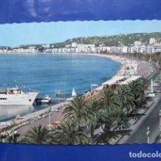 Postales: 6815 FRANCIA FRANCE ALPES MARITIMES LA CÔTE D'AZUR NICE LA PROMENADE DES ANGLAIS. Lote 163417394