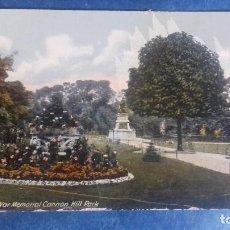 Postales: REINO UNIDO. BIRMINGHAM WAR MEMORIAL CANNON HILL PARK. A 2042. SIN CIRCULAR.. Lote 163515806