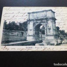 Postales: ROMA ITALIA ARCO DE TITO. Lote 163785266