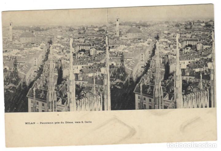 MILAN / PANORAMA PRIS DU DÔME, VERS S. CARLO (Postales - Postales Extranjero - Europa)