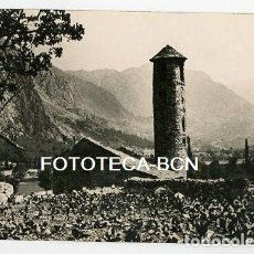 Postales: ANDORRA IGLESIA DE SANTA COLOMA AÑOS 20/30. Lote 164666698
