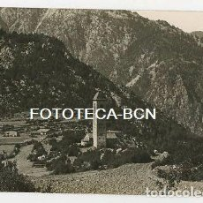 Postales: ANDORRA VISTA DE LA IGLESIA DE SANT MIQUEL D'ENGOLASTERS AÑOS 20/30. Lote 164667834