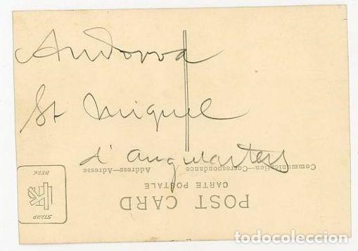Postales: ANDORRA VISTA DE LA IGLESIA DE SANT MIQUEL DENGOLASTERS AÑOS 20/30 - Foto 2 - 164667834