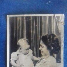 Postales: REINO UNIDO. PRINCESS ELIZABETH AND PRINCE CHARLES / PRINCESA ISABEL Y PRÍNCIPE CARLOS. C. 1949.. Lote 164718366