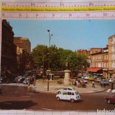 Postales: POSTAL DE FRANCIA. TOULOUSE, PLACE JEANNE D'ARC. RENAULT 4 4L. 1126. Lote 164971802