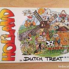 Postales: HOLLAND. DUTCH TREAT. Lote 165153317