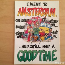 Postales: AMSTERDAM...AND STILL HAD A GOOD TIME. Lote 165155256