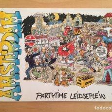 Postales: AMSTERDAM. PARTYTIME LEIDSEPLEIN (POSTAL). Lote 165156212