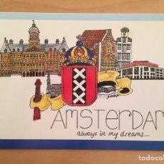 Postales: AMSTERDAM. ALWAYS IN MY DREAMS (POSTAL). Lote 165156416