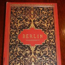 Postales: ÁLBUM ILUSTRADO. ALEMANIA. BERLIN. C. 1897. DESPLEGABLE CON 30 FOTOGRAFIAS QUE ESTAN TODAS FOTOGRAFI. Lote 165385066