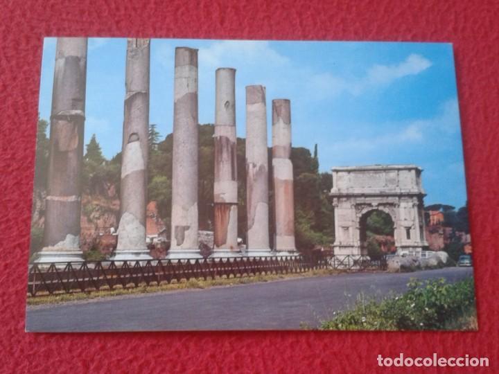 POSTAL POST CARD CARTE POSTALE ITALIA ITALY ROMA ROME ARCO DI TITO ARC DE TITUS OF DER TITUSBOGEN (Postales - Postales Extranjero - Europa)